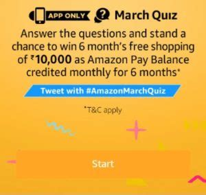 amazon quiz answer today amazon march quiz answers today quiz of day 20 march 2018