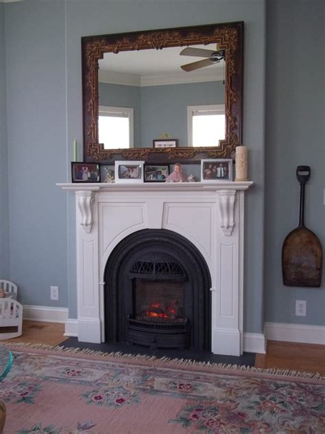 Fireplace Mantle Height by What Is The Proper Fireplace Mantel Height Quora