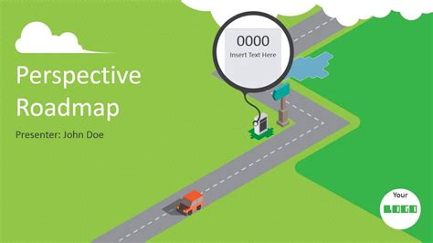 Animated Powerpoint Roadmap Presentation Template Like How To Draw Roadmap In Powerpoint