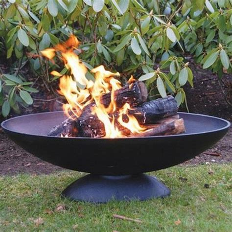 feuerschale outdoor large cast iron wood pit the farthing