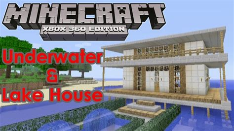minecraft underwater house minecraft house tour quot underwater house quot quot lakehouse quot youtube
