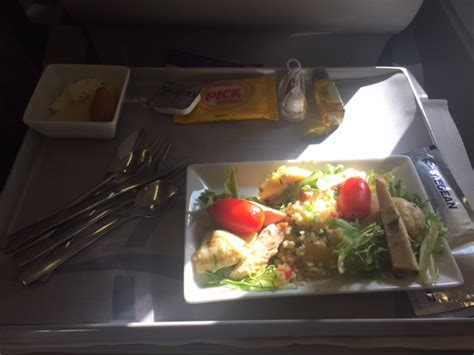 Todays Special Smoked Turkey And Couscous Salad With Lemon Chive Vinaigrette by Aegean Airlines Catering Thread Your Inflight Food