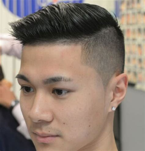 asian combover with short sides 19 popular asian men hairstyles
