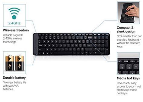 Pasaran Keyboard Logitech logitech mk215 wireless keyboard and mouse combo lazada
