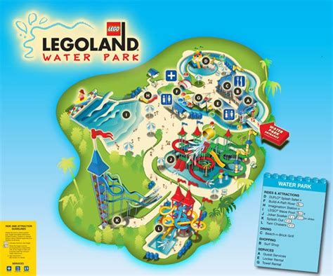 water parks in california map legoland water park legoland family vacation ideas