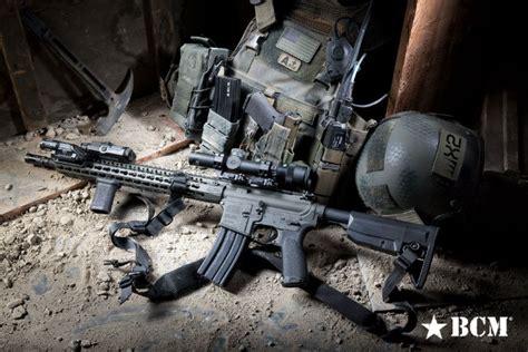Kyle Cutting Sticker Colt M16 bravo company usa s modified vertical grip recoil