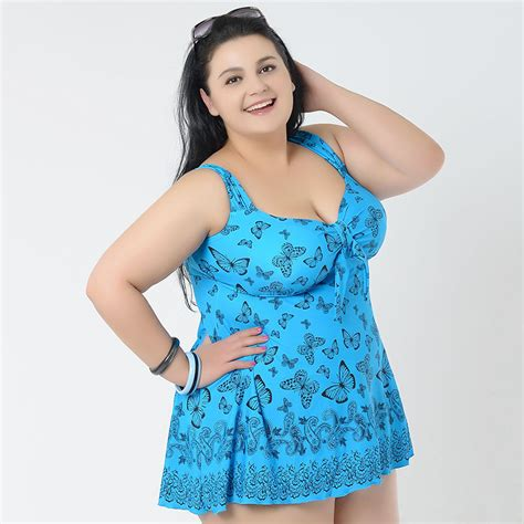 bathing suits for heavy people new plump womens swimsuit plus size tankini swimwear two