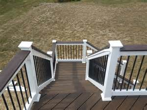 composite handrails deck stairs handrail deck stair railings deck railing