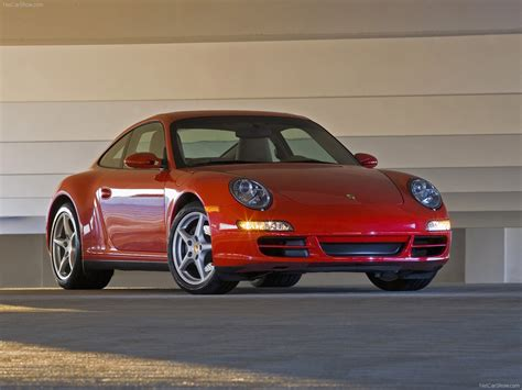 porsche carrera 2007 2007 red porsche 911 carrera 4 wallpapers