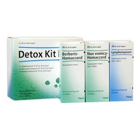 Heel Homeopathic Detox Kit by Heel Detox Kit Chemist