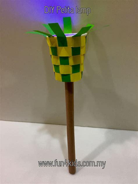 diy ramadan pelita lamp  led eid crafts ramadan