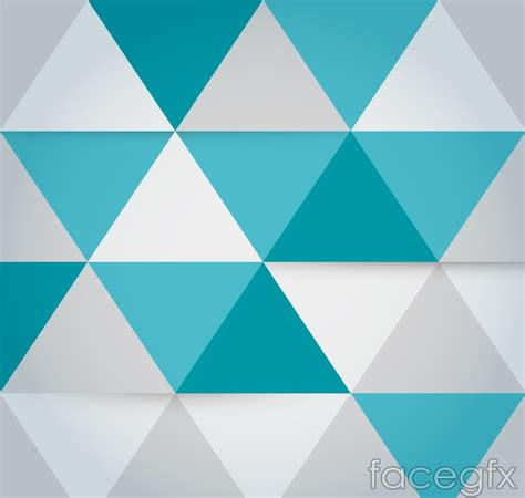 triangle background vector download fashion triangle mosaic background vector over millions