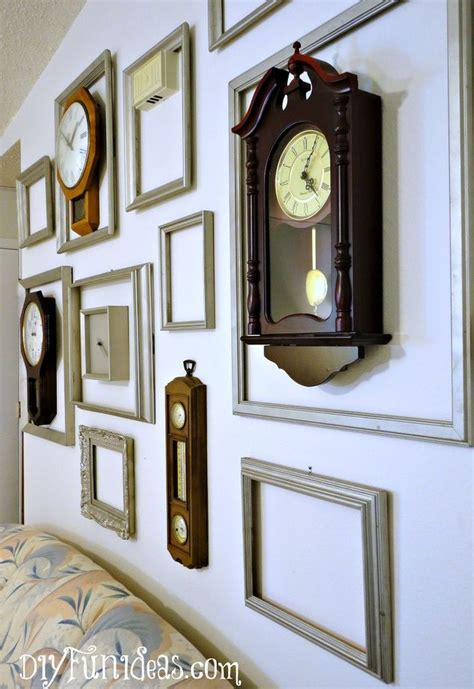 low priced home decor 11 clock frame gallery wall hometalk