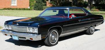 Chevrolet Caprice 1973 1973 Chevrolet Caprice Information And Photos Momentcar