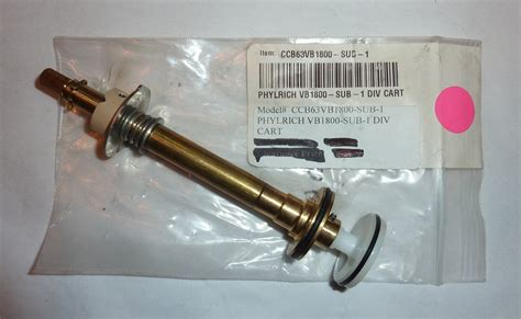 Phylrich Faucet Stems by Phylrich Vb1800sub1 Diverter Assembly Locke Plumbing
