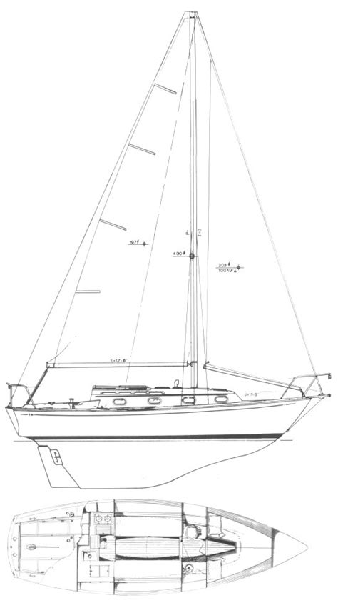 how to draw a dory boat cape dory 28 sailboat specifications and details on