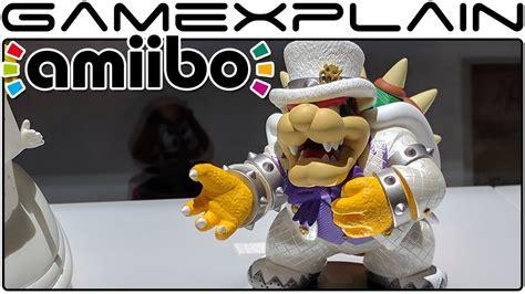 Amiibo Bowser Mario Odyssey Series new amiibo showcase mario odyssey smash bros emblem more