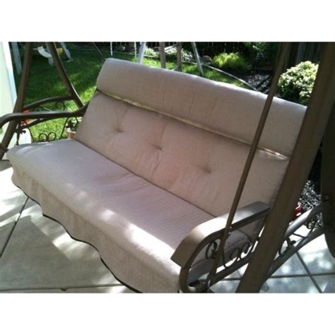 bench swing cushion replacement 1000 images about fix porch swing on pinterest outdoor