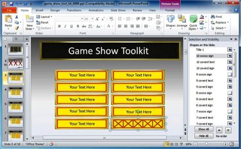 Free Powerpoint Game Show Templates For Teachers Briski Info Show Templates For Powerpoint