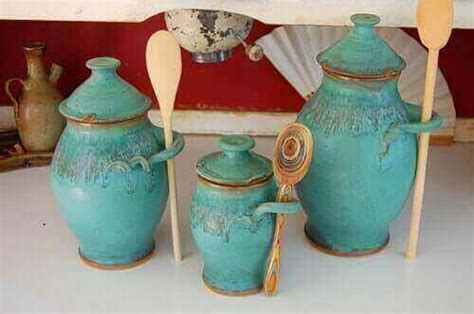 turquoise kitchen canisters 7 lovely turquoise kitchen canisters 300 00