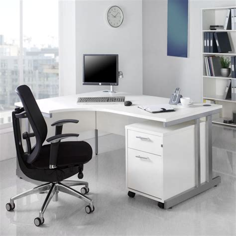 Home Office Desk Collections Benefit Of Using White Office Furniture Collections