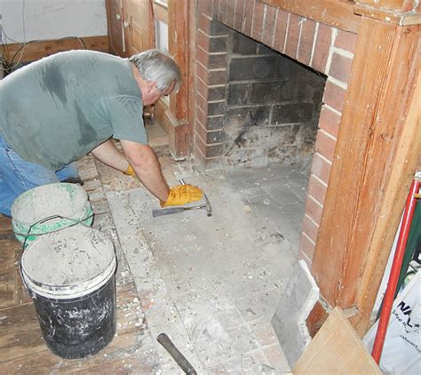 How To Fix Fireplace by Saturday Morning Home Repair Restoring The Fireplace