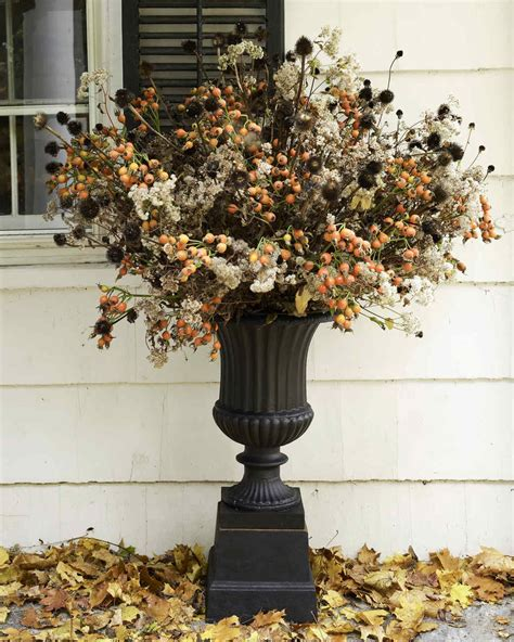 martha stewart fall centerpieces fall flower arrangements martha stewart