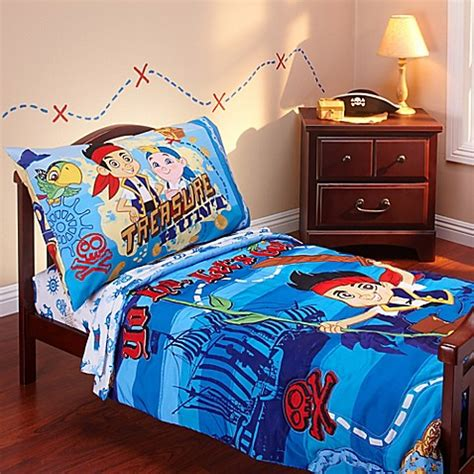 bed bath and beyond kids bedding buy disney 174 jake and neverland piirates 4 piece toddler