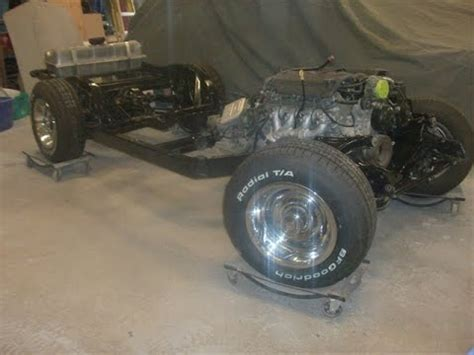 corvette chassis restoration 1972 corvette chassis restoration by