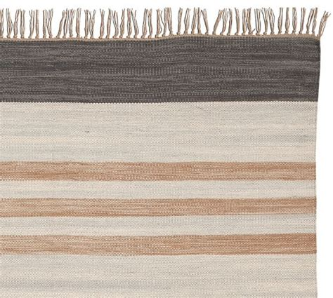 Grey And White Outdoor Rug Stinson Synthetic Indoor Outdoor Rug Gray Multi Pottery Barn