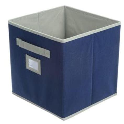 martha stewart living fabric drawer purple martha stewart living 10 1 2 in x 11 in azurite blue
