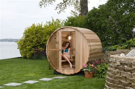 outdoor saunas if if can t fit inside your house there