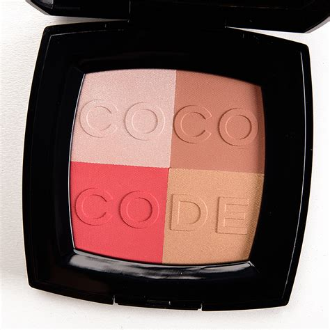Chanel Coco Code Limited Edition Blush On Chanel Coco Code Harmonie De Blush Review Photos Swatches