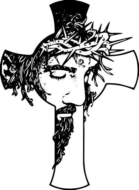 Black And White Drawings Of Jesus by Free Healing Cross Cliparts Free Clip Free