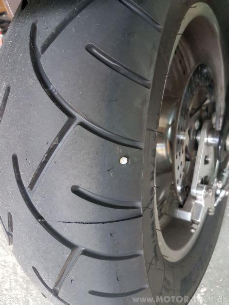 Motorrad Reifen Nagel by Neuer Reifen Keine 300km Mit Nagel Best 252 Ckt Harley Davidson