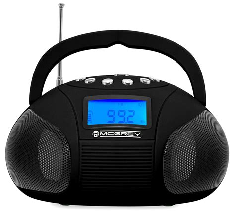 Speaker Bluetooth Voombox mcgrey boombox mc 50b bluetooth speaker with usb sd slot and fm radio