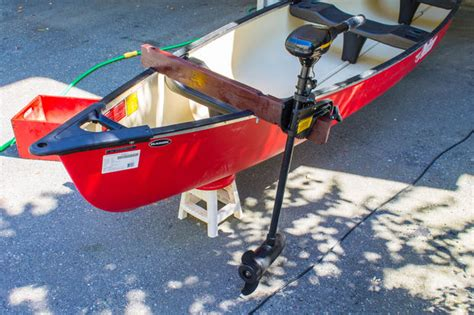 electric trolling motor canoe mount electric trolling motor canoe