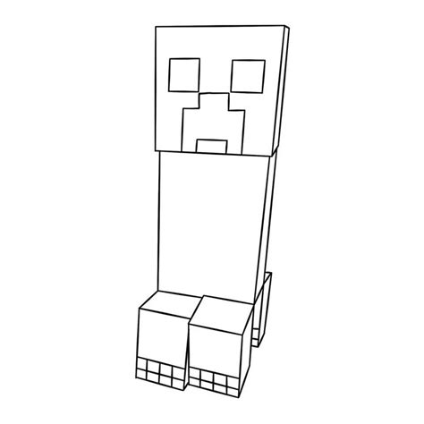 coloring pages minecraft creeper minecraft coloring pages for kids creeper minecraft