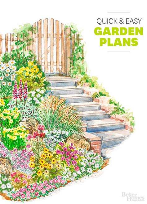 Flower Garden Plans Layout Garden Design 675 Garden Inspiration Ideas