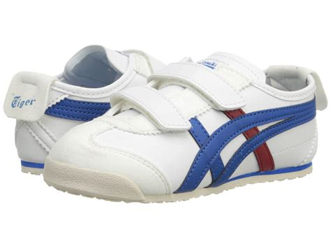 Po Original Onitsuka Tiger Mexico 66 Baby White Blue C6b5y 0145 onitsuka tiger by asics mexico 66 174 toddler white royal blue zappos free shipping