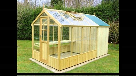 greenhouse shed plans youtube