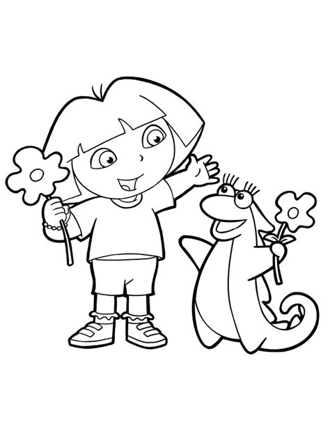 printable dora images free coloring pages of i need a dora the explorer