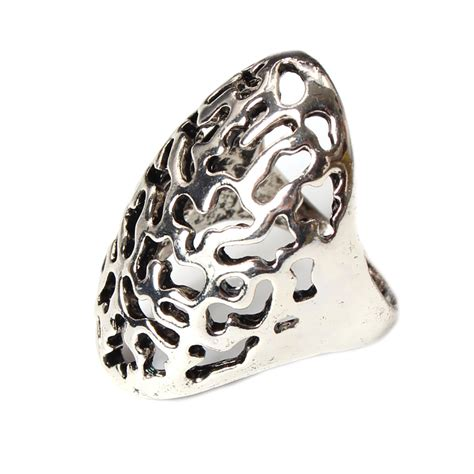 Edelstahl Ring by Edelstahl Ring Modeschmuck Silber Gold Ebay