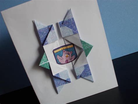 Origami Birthday Gifts - birthday card simple and stunning origami birthday card