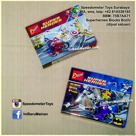 Promo Mainan Anak Cowok Diecast Besar 2211 lego china superheroes speedometer toys rc diecast