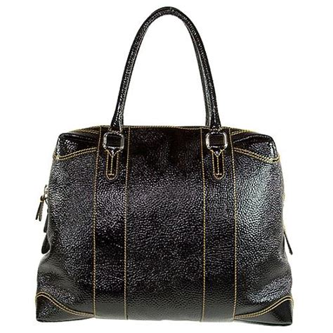 Fendi B Mix Duffle by Fendi B Mix Large Coated Selleria Handbag