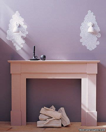 decorating on a budget wallpaper faux fireplace and modern