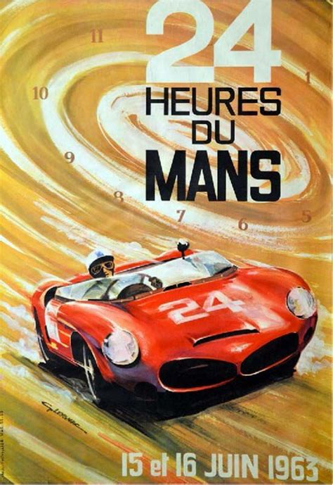 Poster Auto vintage car poster vintage automobile poster