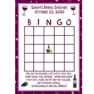 24 personalized bridal shower bingo cards by partyplace