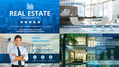 house brokers real estate realtor lower thirds by mix motion videohive